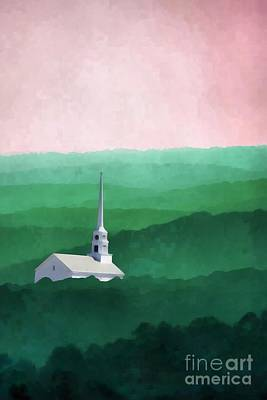 Painting - Stowe Vermont by Edward Fielding