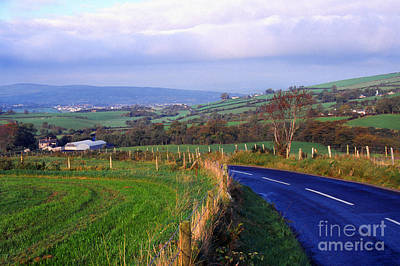Strabane Photograph - Strabane Plumbridge Road by Thomas R Fletcher