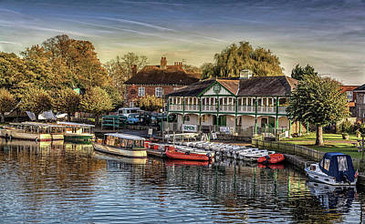 Stratford City Photograph - Stratford - Upon - Avon In Autumn by Mountain Dreams