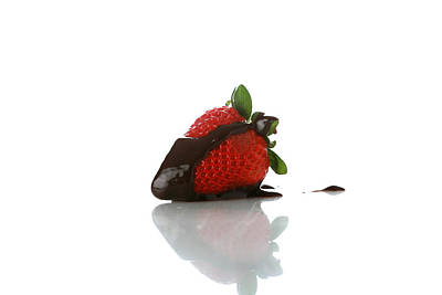 1-war Is Hell Royalty Free Images - Strawberry and Chocolate Royalty-Free Image by Michael Ledray