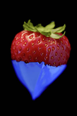 Photograph - Strawberry Blue by Al Hurley