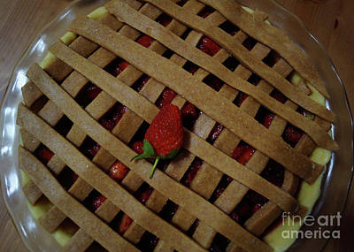 Photograph - Strawberry Pie by Cassandra Buckley