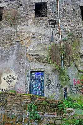 Photograph - Street Art In Rome Italy by Richard Rosenshein