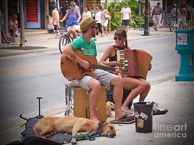 Photograph - Street Melody by Judy Kay
