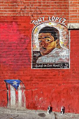 Street Memorial Art Print by Robert Ullmann