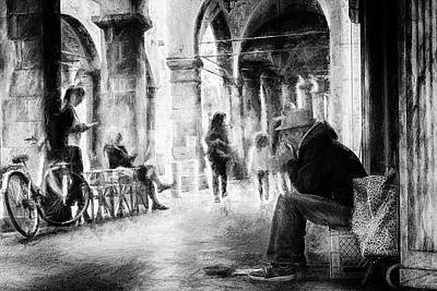 Musicians Royalty Free Images - Street musician Royalty-Free Image by Frank Andree