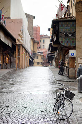 Streets Of Florence Print by Andre Goncalves