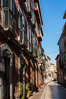 Photograph - Streets Of Italy - Citta Sant Angelo by Andrea Mazzocchetti