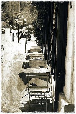 Photograph - Streets Of Paris by Pawel Dobrowolski