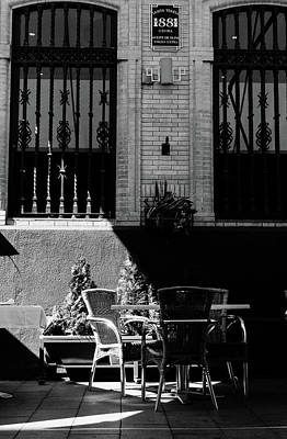 Photograph - Streets Of Seville - In Black And White by Andrea Mazzocchetti