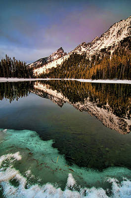 Photograph - String Lake by Steve Stuller