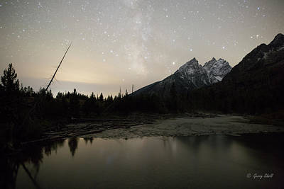 Photograph - String Lake Trail Tetons by Gerry Sibell