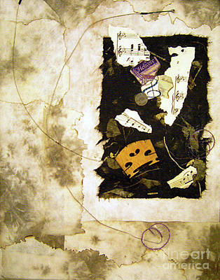 Mixed Media - Strings by Sandy McIntire