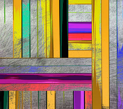 Painting - Stripes - Abstract Art by Ann Powell