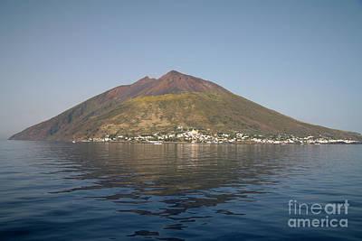 Land Feature Photograph - Stromboli Volcano, Aeolian Islands by Richard Roscoe