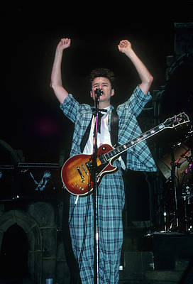 Photograph - Stuart Adamson by Rich Fuscia