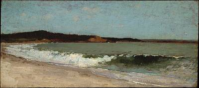 Study For Eagle Head Manchester Massachusetts Original by Winslow Homer