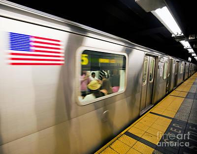 Desserted Photograph - Subway by Stuart Monk
