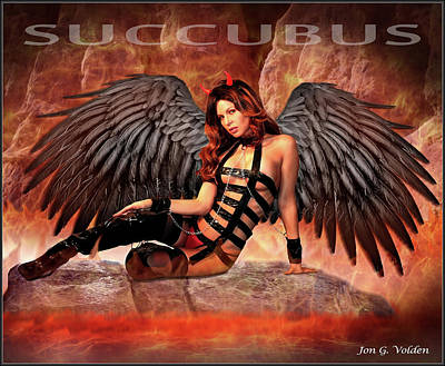 Photograph - Succubus by Jon Volden