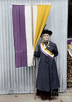 Photograph - Suffragette, 1917 by Granger
