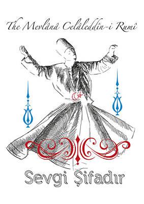 Sufi Dervish Original by Emre Yaprak