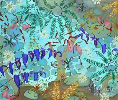 Mayapple Painting - Sugar Hollow 2 by Nancy Jane Dodge