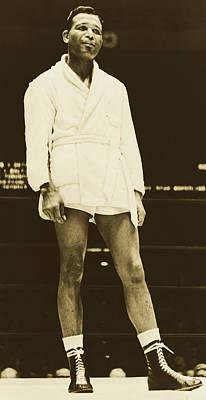 Photograph - Sugar Ray Robinson 1965 by Orlando Fernandez