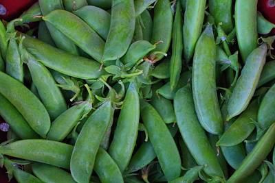 Photograph - Sugar Snap Peas by Kathryn Meyer