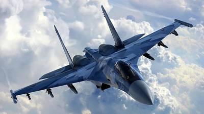 Airplane Digital Art - Sukhoi Su-35 by Maye Loeser