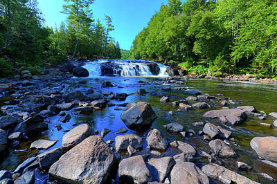 Photograph - Summer At Buttermilk Falls by David Patterson