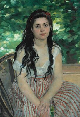Painting - Summer by Auguste Renoir