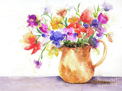 Painting - Summer Bounty by Lynne Furrer