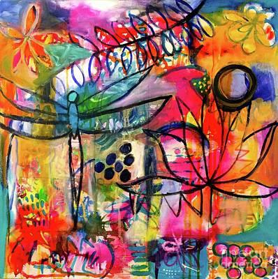 Painting - Summer Breeze by Corina Stupu Thomas