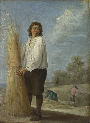 Digital Art - Summer by David Teniers the Younger