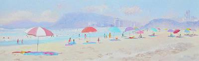 Gold Coast Painting - Summer Dreams by Jan Matson