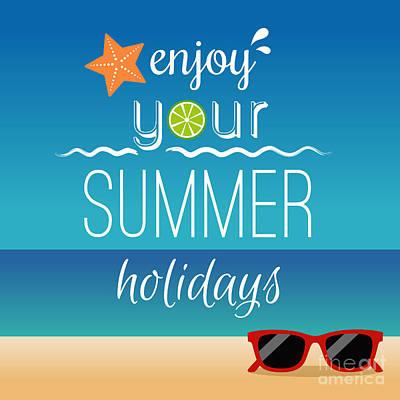 Summer Holidays Concept Original