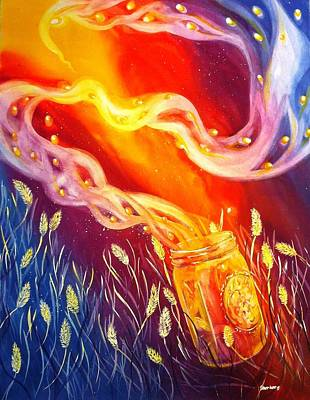 Painting - Summer Magic by Starr Weems