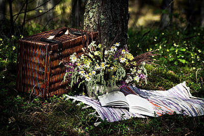 Photograph - Summer Picnic by Kristine Lejniece