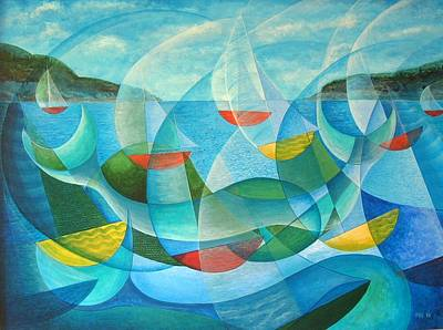 Painting - Summer Sailing by Douglas Pike