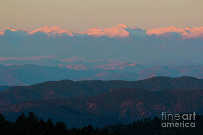 Steven Krull Royalty-Free and Rights-Managed Images - Summer Sangre de Cristo by Steven Krull