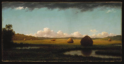 Painting - Summer Showers by Martin Johnson Heade