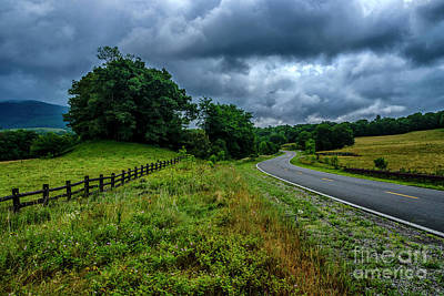 Photograph - Summer Storm Highland Scenic Highway by Thomas R Fletcher