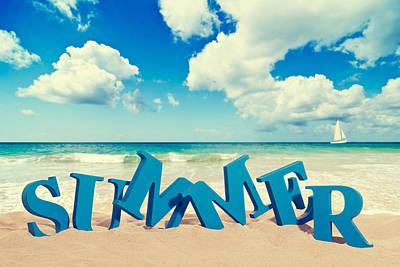Summer Digital Art - Summer by Super Lovely