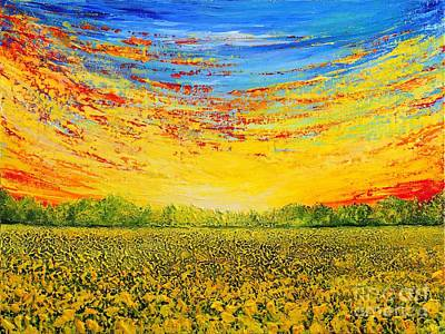 Painting - Summer by Teresa Wegrzyn