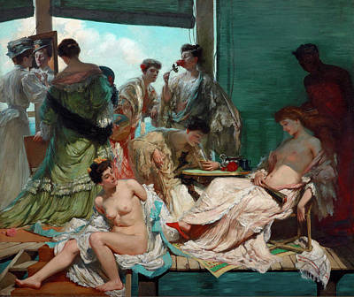 Painting - Summer Time by Rupert Bunny