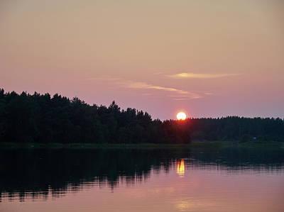 Photograph - Summernight Seaside Sunset by Jouko Lehto
