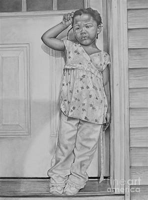 Artist Curtis James Drawing - Summer's  Over by Curtis James