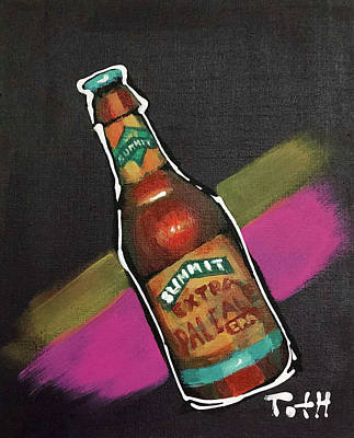 Growler Painting - Summit by Laura Toth