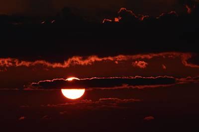 Photograph - Sun Behind A Cloud  by Lyle Crump