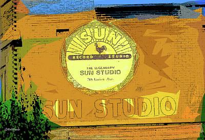 Mixed Media - Sun Studio by Rick Thiemke